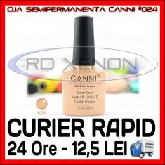 OJA SEMIPERMANENTA (PERMANENTA) CAPUCCINO #024 CANNI - MANICHIURA UV, Metalic
