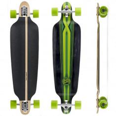 "Skateboard - Longboard Mindless Longboards Savage black/greeen 39""/101cm"