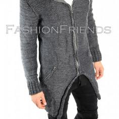 Palton tip ZARA gri - palton barbati - palton slim fit - STOC LIMITAT 5709