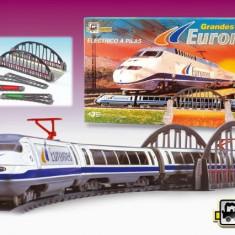 Trenulet Electric Calatori Euromed - Trenulet de jucarie Pequetren
