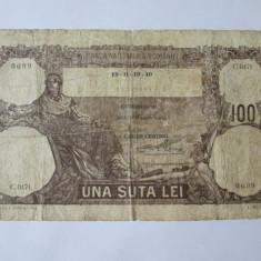 Bancnote Romanesti, An: 1940 - BANCNOTA 100 LEI 1940