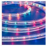 Instalatie electrica Craciun - Tub luminos color 6 m cu programe