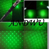 Laser verde 2000 mW GREEN LASER POINTER 2 IN 1 cap 3D