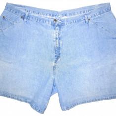 (BATAL) Pantaloni scurti blugi MAINSTREET BLUES - (MARIME: 31) - Talie = 120 CM - Bermude barbati, Culoare: Albastru, Bumbac