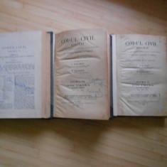 Carte Drept civil - HAMANGIU SI GEORGEAN--CODUL CIVIL ADNOTAT - VOL. 6, 8, 9