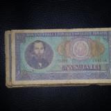 BACNOTA 100 LEI ANUL 1966