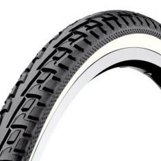 Cauciuc / Anvelopa Bicicleta 28x1.75 / 47 - 622 Deestone Tailanda - BANDA ALBA