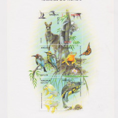 Timbre straine, Nestampilat - ANGOLA 2000 FAUNA ANIMALE SALBATICE