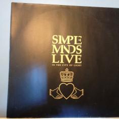 SIMPLE MINDS -LIVE IN THE...BEST OF -2LP SET (1987/VIRGIN/RFG) - Vinil/Impecabil - Muzica Pop virgin records