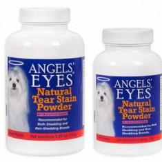 Caine - Angels'Eyes 75gr cartof dulce pt eliminare pete lacrimi caini si pisici cu blana alba bichon maltese, bolognese frise, westie, shih tzu