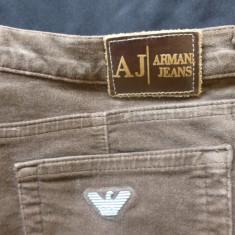 Blugi barbati - Blugi Armani Jeans, Comfort Fit, Eco Wash, Made in Italy; marime 30, vezi dim.