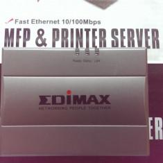 USB MFP Printer Server Edimax PS-1206MF 10/100 - Print server