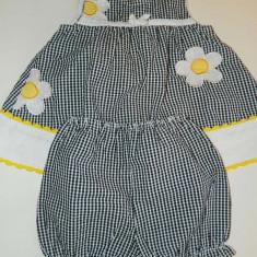 Rochita cu pantalonasi pentru fetite, Compleu rochita, deosebita, marimea 12 luni, 1-2 ani, Culoare: Multicolor