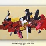 Tablou Abstract 111 - ulei pe panza 90x60cm
