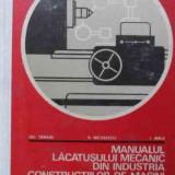 Carti Mecanica - Manualul Lacatusului Mecanic Din Industria De Constructii De - Gh Tanase V Nicolescu I Birla, 523031