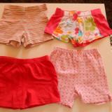 Set trei pantaloni scurti pentru fetite, marime 2-3 ani. COMANDA MINIMA 30 lei!