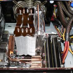 Vand Cooler procesor ZEROtherm ZENFZ120 Premium 4 heat pipes PT Lga 775 Silentios, Ventilator Mare de 120mm Deep Cool 3 pini Leduri rosii - Cooler PC Titan, Pentru procesoare