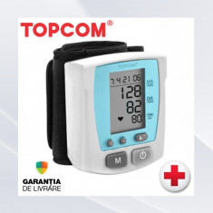 Aparat monitorizare - Tensiometru Electronic Automat TOPCOM Digital