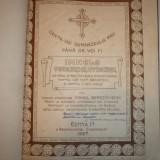 Carti bisericesti - IMNELE VECERNIEI, UTRENIEI DIN TRIOD, SF PASTI, TE-DEUM SI SFINTIREA BIS. PT COR MIXT, BARBATESC SI PT 3 VOCI EGALE, MIHAIL BEREZOVSCHI ED.1 CHISINAU, 1927