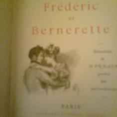 Frederic et Bernerette - ALFRED DE MUSSET (1893) - Carte veche