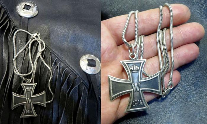 Crucea de Fier Ocazii Medalion Argint Crucea de Fier