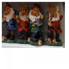 Figurina de gradina - Pitic decorativ pentru gradina set patru