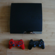 PlayStation 3 Sony SLIM 250 Gb + 21 Jocuri/ 2 Controllere