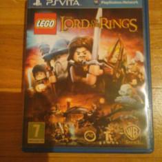 JOC PS VITA LEGO THE LORD OF THE RINGS ORIGINAL / STOC REAL in Bucuresti / by DARK WADDER - Jocuri PS Vita, Actiune, 12+, Single player