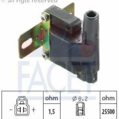 Bobina inductie - Bobina de inductie PIAGGIO APE TRUCK platou / sasiu 1.0 - FACET 9.6249