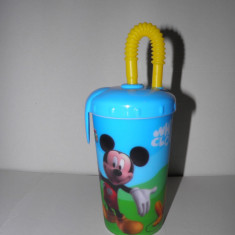 Pahar cu pai Mickey Mouse Disney