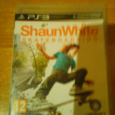 JOC PS3 SHAUN WHITE SKATEBOARDING ORIGINAL / STOC REAL in Bucuresti / by DARK WADDER - Jocuri PS3 Ubisoft, Sporturi, 12+, Multiplayer