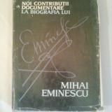 NOI CONTRIBUTII DOCUMENTARE LA BIOGRAFIA LUI MIHAI EMINESCU ~ AUGUSTIN Z.N.POP - Biografie