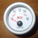 Accesoriu Auto - Voltmetru de bord auto tuning sport