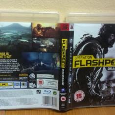Operation Flashpoint: Dragon Rising (PS3) (ALVio) + sute de alte Jocuri PS3 Codemasters ( VAND SCHIMB ), Actiune, 16+