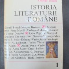 ISTORIA LITERATURII ROMANE de GEORGE IVASCU, VOL I 1969 - Studiu literar