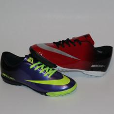 Ghete fotbal | Adidasi NIKE MERCURIAL, Asfalt, Teren sintetic, Iarba