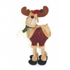 Ornamente Craciun - Ren cu pulover si clopotei