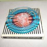 Rola mica de magnetofon 10cm diametru, carcasa originala MUNPLAST, amintiri din Epoca de Aur