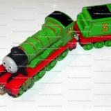 TAKE Along / TAKE-n-Play cu magnet - Thomas and Friends trenulet jucarie - locomotiva HENRY - (HFB1) - Trenulet de jucarie, Metal, Unisex