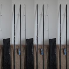 Lanseta - Set 4 Lansete Pokee Superior Carp 3, 90 din 3 bucati 5 LBS Super Recomandata pentru Crap New Generation Model Mandrina Fuji