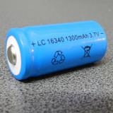 Baterie Aparat foto Alta, Dedicat - Acumulator tip UltraFire 16340 1300mAh 3.7V Li-ion LC+