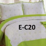 Cuvertura de pat bumbac brodat EC20