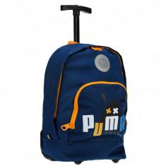 Rucsac Copii - Troler copii Puma Primary Wheel Bag poseidon-graphic 07177401