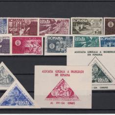 Timbre Romania, Nestampilat - ROMANIA - 1945 AGIR, LP 181, 181a, 182, 183, 184, MNH - LOT 1 RO