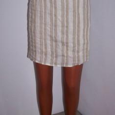 Fusta Donna Karan dama DKNY marime M USA, Marime: M, Culoare: Din imagine, Midi, Dreapta, In