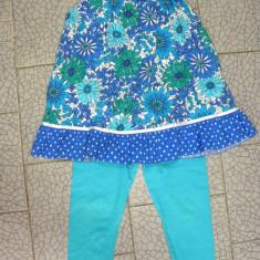 Tunica/bluza de vara, fete 2-3 ani, 98 cm, F&F. Stare foarte buna. Next, Culoare: Albastru