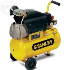 Stanley compresor de aer D210/8/24, 8 Bar, 24 l NOU - Compresor electric