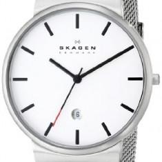 Skagen Men's SKW6052 Ancher Stainless | 100% original, import SUA, 10 zile lucratoare a12107 - Ceas barbatesc Skagen, Quartz