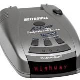 Detector radar Beltronics PRO RX65i cu detectie de la distanta mare