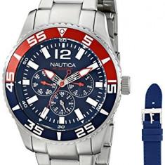 Nautica Men's NAD16503G NST 07   100% original, import SUA, 10 zile lucratoare a22207 - Ceas barbatesc Nautica, Quartz